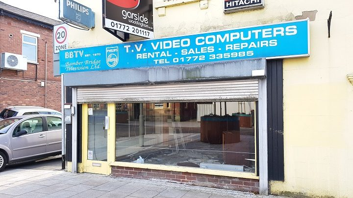 The former TV shop is going to have a new use