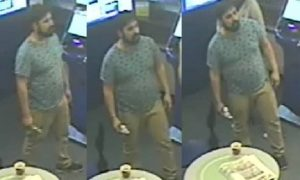 Police released CCTV images of a man they wish to speak to