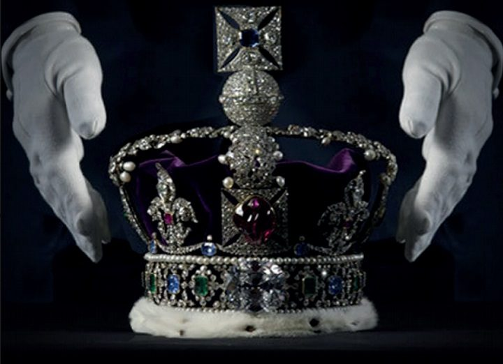 A replica of the Crown Jewels