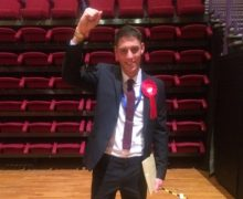 Freddie Bailey is a new councillor for College ward