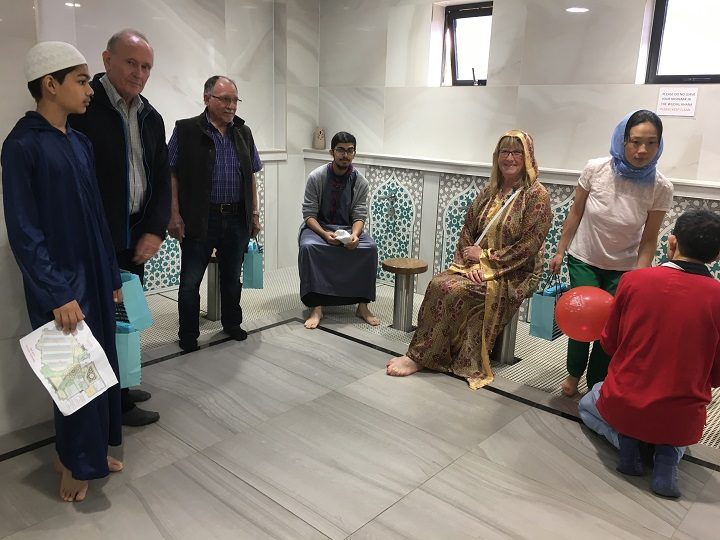 Inside the Fulwood mosque open day