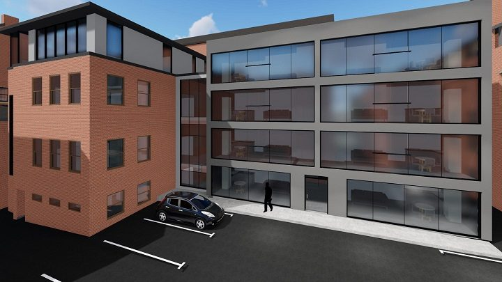 How the new flats may look within Winckley Square