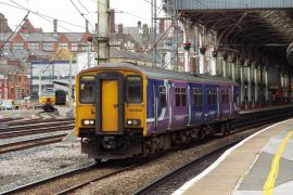 An increasingly rare sight, a Northern train leaving Preston Railway Station Pic: Ian Simpson