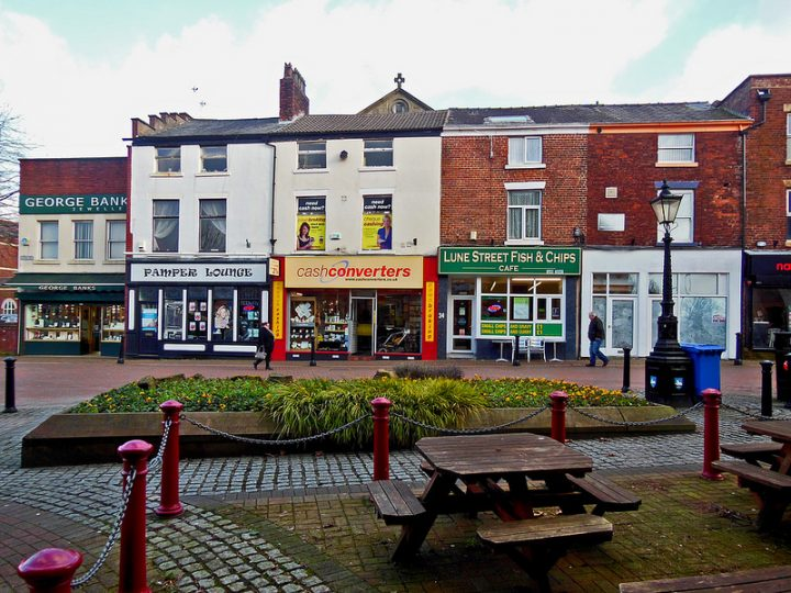 Lune Street is classed as part of the Winckley Square Conservation Area Pic: 70023venus2009