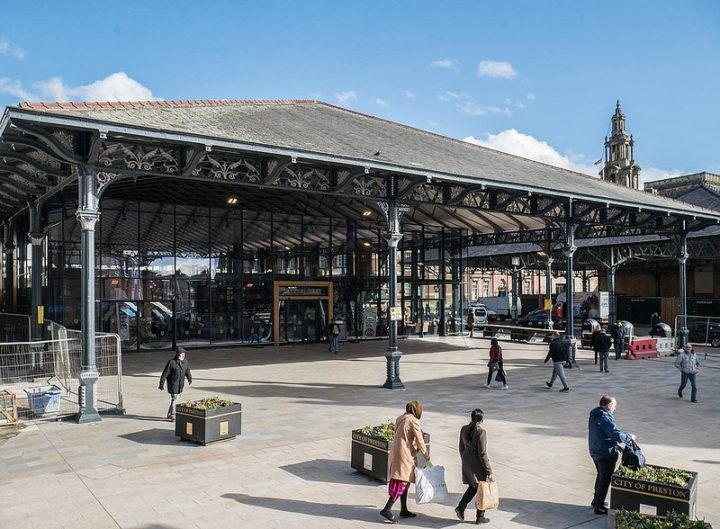 The new Preston Market was referenced throughout the interview Pic: Keith Heyworth