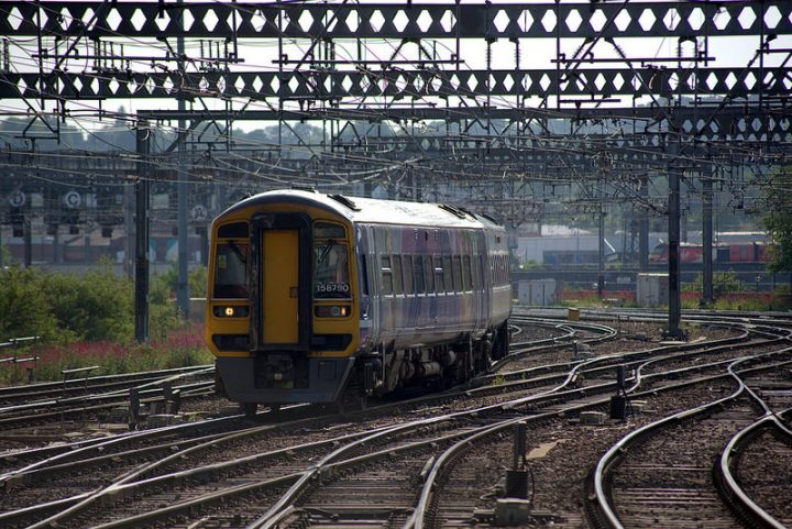 A Northern service on its way Pic: Tony Worrall