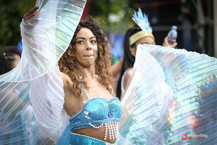 One of the many fantastic dancers at the Carnival Pic: Paul Melling