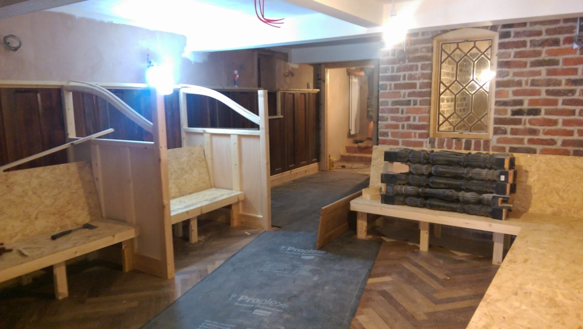 One of the many seating areas inside Plau bar Pic: Blog Preston