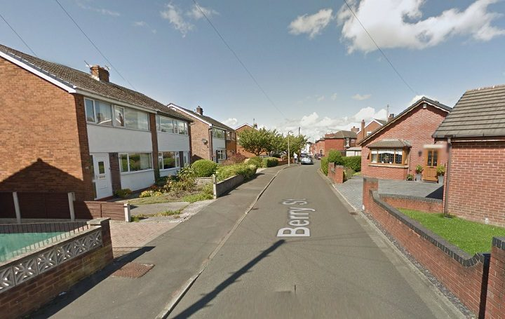 Berry Street saw lots of police activity Pic: Google