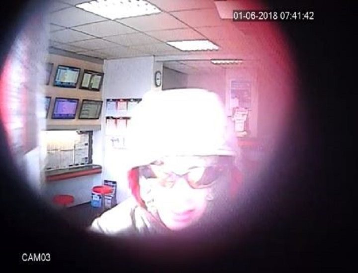 Another CCTV image from police of the man they want to speak to