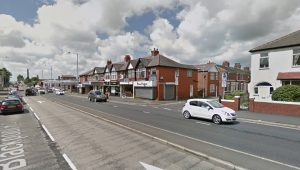 Ainslie Road junction on Blackpool Road Pic: Google