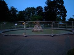 Miller Park fountain is due to see work from Monday 25 June