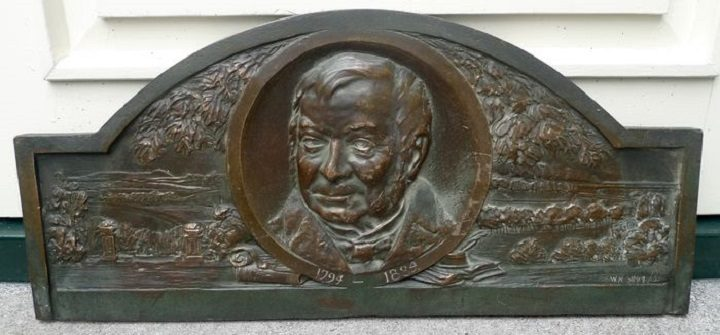 The Joseph Livesey plaque was listed as 'unknown gentleman' Pic: CataWiki