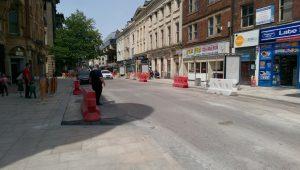The Church Street end of Lancaster Road Pic: Blog Preston