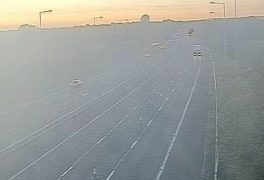 View from one of the traffic cameras around Junction 32 of the M6