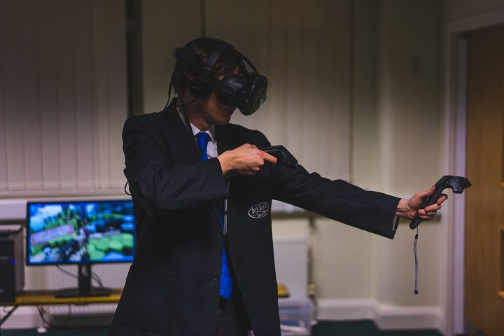 Taking on virtual reality within the People's Production Lab