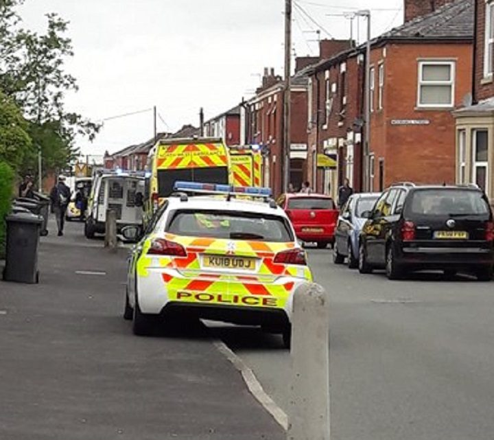 Emergency services in Ripon Street