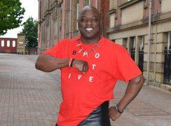 Ronald Clark from B Positive choir