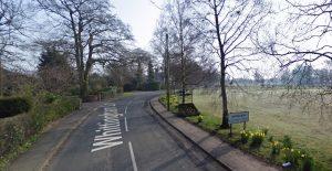 Whittingham Lane runs through Grimsargh Pic: Google