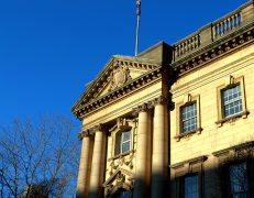 Town Hall glinting in the sunshine Pic: Tony Worrall