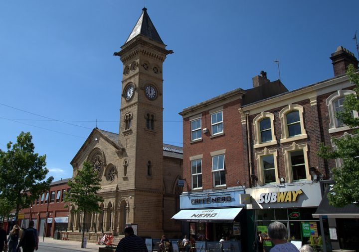 Bistrot Pierre will be inside the former Fishergate Baptist Church Pic: Tony Worrall