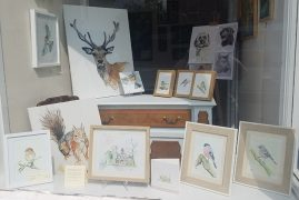 Rachel Joyner - Art & Upcycled Furniture shop window