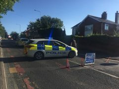 Black Bull Lane is closed by Preston Police Pic: Olivia Baron/Blog Preston