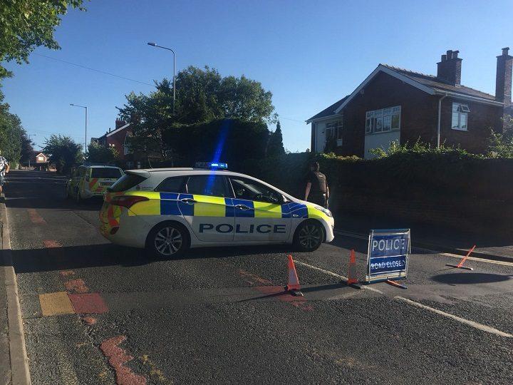 Black Bull Lane is closed by Preston Police Pic: Olivia Baron/Blog Preston