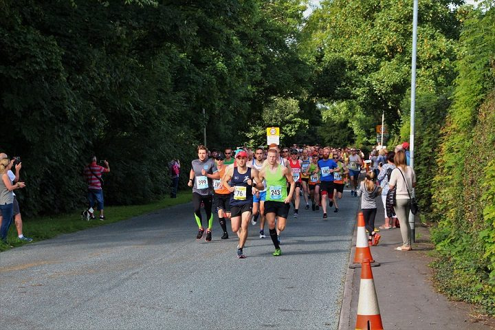 City of Preston road race in action