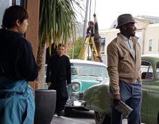 Donnie Yen pictured on set Pic: Mark Hodson