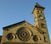 Fishergate Baptist Church clock has not ticked for a long time Pic: George D Thompson