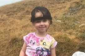 Halle has completed the mountain walk for her friend Tille Pic: Blog Preston