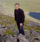 A picture of John Culshaw on a hike