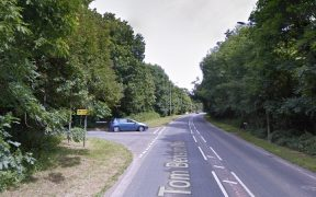 The junction with Tom Benson Way will be blocked off as part of roundabout works Pic: Google