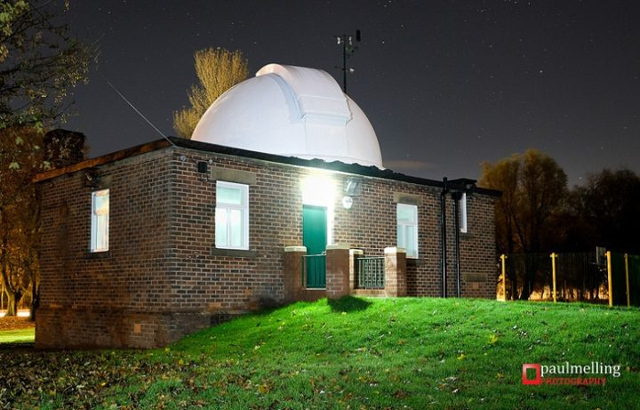 The observatory in Moor Park Pic: Paul Melling