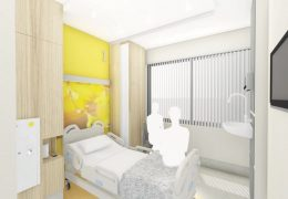 One of the proposed rooms in the ward