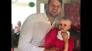 Ste and his daughter Eloise