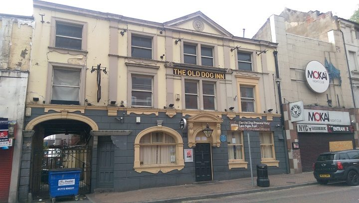 The Old Dog Inn in Church Street Pic: Blog Preston