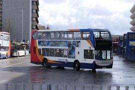 A Stagecoach bus service at Preston Bus Station Pic: Ian Simpson