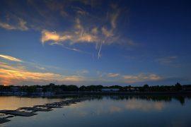 A crisp sky over Preston Docks Pic: Tony Worrall