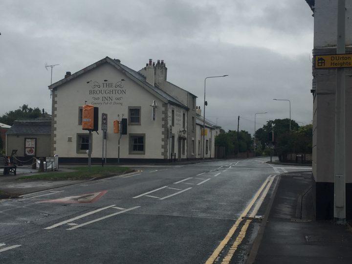 The Broughton crossroads Pic: Blog Preston