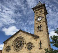 Fishergate church clock after restoration