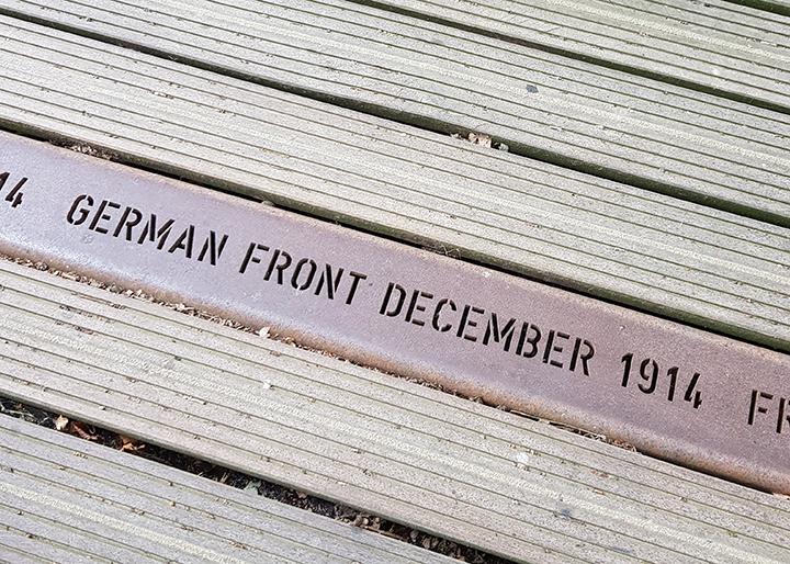 German Front December 1914