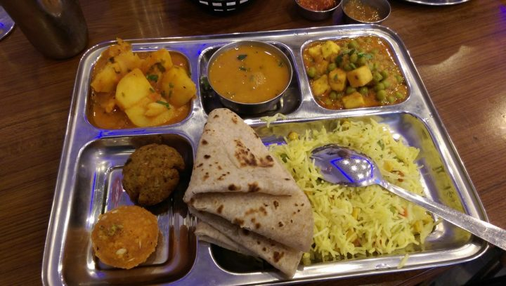 The Premium thali Pic: Blog Preston