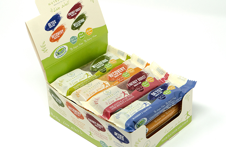 NutreeLife Live Well Snack Bars