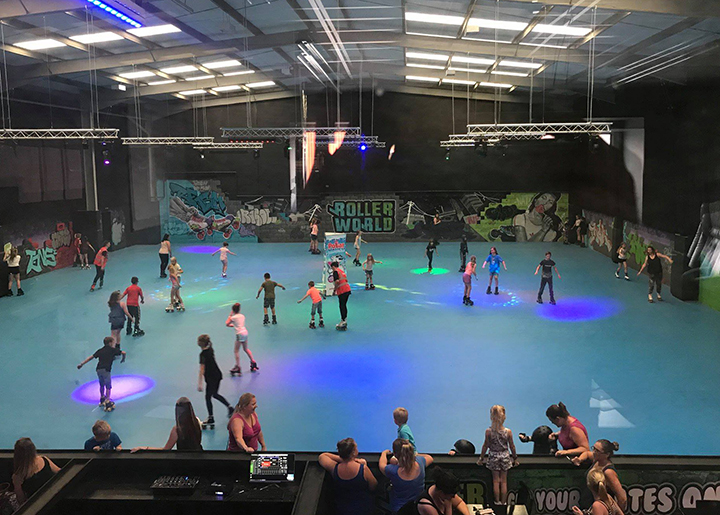 Roller World Preston opening day
