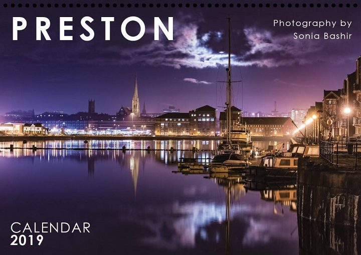 The Preston 2019 calendar by Sonia Bashir