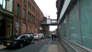 Looking down Glovers Court from Fishergate Pic: Blog Preston