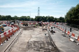 The A582 roundabout works for the bypass Pic: LancsCityDeal