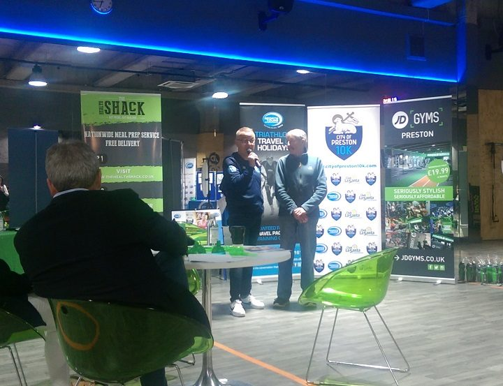 Chris Bird and Ron Hill at the launch Pic: Blog Preston